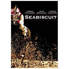 NEW! SEALED! Seabiscuit (Widescreen Edition) DVD Tobey Maguire, Jeff Bridges