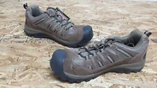 New Mens Coleman Niagara Low Taupe Brown Leather Suede Hiking Shoes (J127)