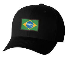 Embroidered Brazilian Flag Brazil Rio Soccer Pride World Cup Hat 4 Colors