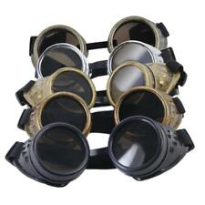 Vintage Rustic Cyber Goggles Steampunk Welding Goth Cosplay Photos Glasses