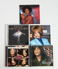 Lot of 5 Whitney Houston CD