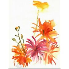 Poster Print Wall Art entitled Marigolds and Other Flowers, 2004