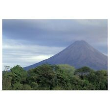 Poster Print Wall Art entitled Central America, Costa Rica, Arenal Volcano,