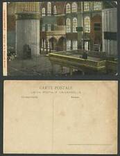 Turkey Constantinople Old Colour Postcard Ahmed Mosque Interior Terrace Mosquee