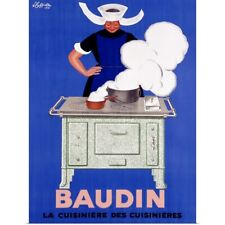 Poster Print Wall Art entitled Baudin, by Leonetto Cappiello,Vintage Poster