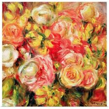 Poster Print Wall Art entitled Roses, 1915 (oil on canvas)
