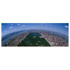 Poster Print Wall Art entitled Aerial Central Park Manhattan New York City NY
