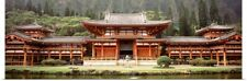 Poster Print Wall Art entitled Hawaii, Oahu, Valley of the Temples, Byodo-In