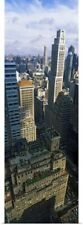 Poster Print Wall Art entitled High angle view of buildings in a city,