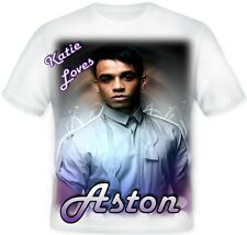 Kids Child's Personalised Aston Merrygold JLS Koolart T Shirt Great Gift