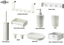 IKEA ENUDDEN, Hanger Towel Rack Toilet Brush/Roll, Soap Dish/Dispencer Mug Knob