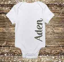 Personalized Name Camo/Camouflage Deer Hunting Baby Boy Onesie Baby Shower gift