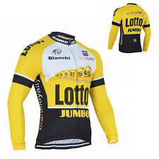 Hot Style Mens Cycling Long Sleeve Jersey Bike Riding Tops Garment Sweater Shirt