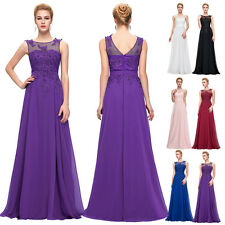 Maxi Formal Evening Ball Prom Gown Long Elegant Bridesmaid Party Cocktail Dress