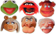 THE MUPPETS MULTIPACK - 6 FUN PARTY FACE MASKS & MULTIPACK - FREE SHIPPING!