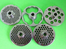 """PICK YOUR SIZE #22 Meat grinder food chopper plate disc knife with HUB 3 3/16"""""""