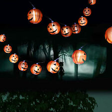DIY Scary Halloween Pumpkin Lantern LED Light Festival Home Prop Decoration New