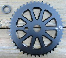 Chainring BMX FreeAgent Race Sprocket 45T 44T 43T or 39T Black New