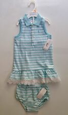 NEW WITH TAG RALPH LAUREN POLO BABY GIRL DRESS SZ 24 MONTHSS