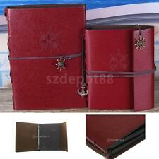 Vintage PU Leather Photo Album Wedding Birthday Paste DIY Scrapbook Memory Gift