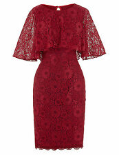 Short Mother of the Bride Lace Dress Formal Evening Cocktail Guest Party Gowns