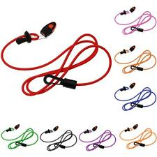 Elastic Kayak Canoe Safety Paddle Fishing Rod Lanyard Paddle Leash with Whistle