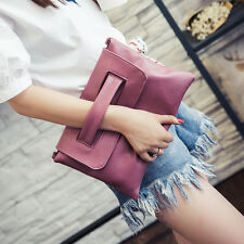 Women Large Clutch Wristlet Purse Girls Crossbody Messenger Bags Daily Handbag