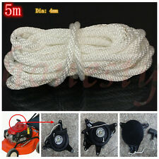 Multi Size Nylon Pull Starter Recoil Start Cord Rope Chain For Most Lawnmower