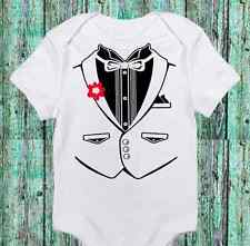 Baby Boy Tuxedo - Tux Funny Onesie - Cute- Boy Bodysuit Clothes - Newborn to 12m
