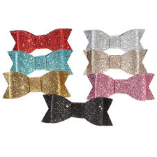 Fashion Girls Women Sequins Big Bowknot Barrette Hairpin Hair Clips Hair Bow