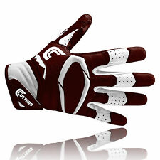 Cutters S451 REV PRO 2.0 American football receiver gloves, brown