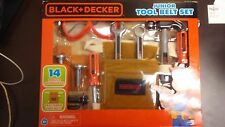 Jacks Pacific New Toy Black Decker Junior 14 Piece Tool Belt Set Gift Kid Play