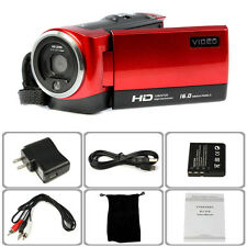 FHD 720P 16MP Digital Video Camcorder Camera DV DVR 2.7'' TFT LCD 16X ZOOM Lot