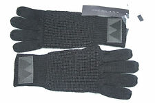 marc by marc jacobs black cotton  and wool GLOVES