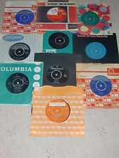 JOB LOT 3 - 10 x 1960s' 45 RPM ISSUED RECORDS.