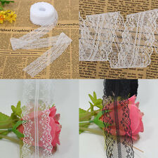 Wholesale 10M Bilateral Handicrafts Embroidered Net Lace Trim Ribbon Applique