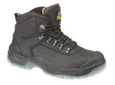 Amblers FS199 Safety Boots Black With Steel Toe Cap & Midsole
