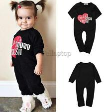 Cotton Newborn Babys girls Clothes Set Outfits Baby Romper Bodysuit Long Sleeve