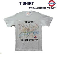 LONDON UNDERGROUND TUBE MAP T SHIRT WHITE SIZE S M L XL XXL TFL Official License