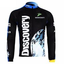 Discovery Cycling Clothing Bike Bicycle Long Sleeve Cycling Jersey Top Quick Dry