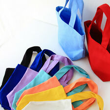 Portable Thermal Lunch Box Carry Tote Canvas Storage Bag Practical Case Picnic