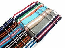 22mm Nylon Watch Strap Band Sports Military Replacement New Pattern multicolored