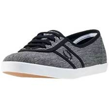 Fred Perry Aubrey Space Dyed Womens Trainers Charcoal New Shoes