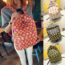 Smiley Fangirl Emoji Backpack funny Day Pack School Shoulder bag Boys Girls Hot