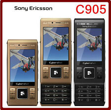 Original Sony Ericsson C905 Phone 8MP WIFI Bluetooth 3G Unlocked Mobile Phone