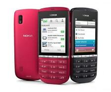 "Unlocked Nokia Asha 300 5MP Camera Tocuh & Type 3G Original Phone 2.4"" MP4"