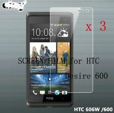 3x Anti-Glare Matte Screen Film Guard Protector Shield Cover For HTC Desire 600