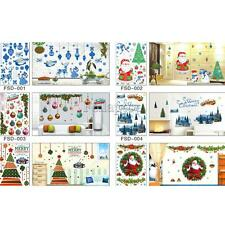Christmas Wall Art Removable Home Window Wall Stickers Decal Decor DIY Crafts