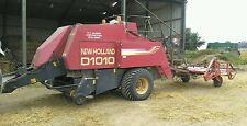 New Holland Baler and sled