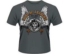 OFFICIAL LICENSED - SONS OF ANARCHY - WINGED REAPER T SHIRT BIKER SAMCRO JAX